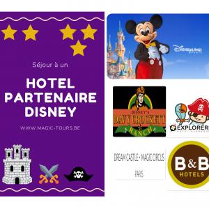 Hôtels Partenaire Disney